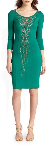 Roberto Cavalli Jeweled Dress - Lyst
