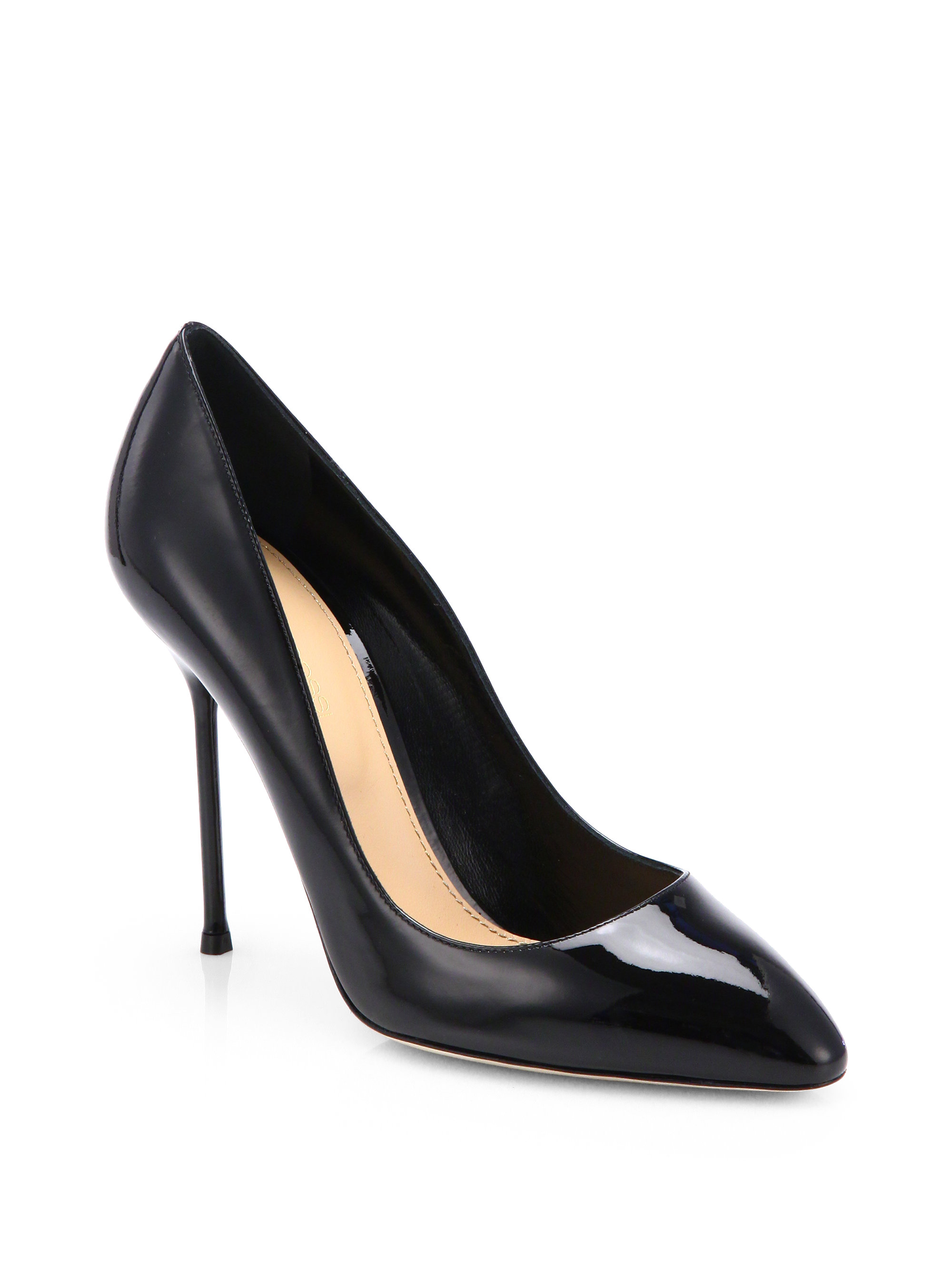 Sergio Rossi Leather Pumps aAthr5jz8a