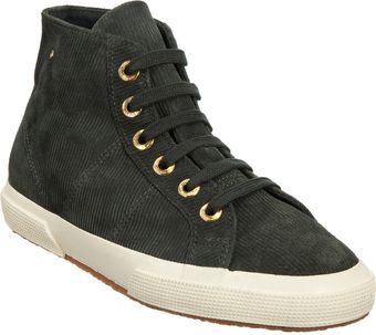 The Row Suede Corduroy Hightop Sneaker - Lyst
