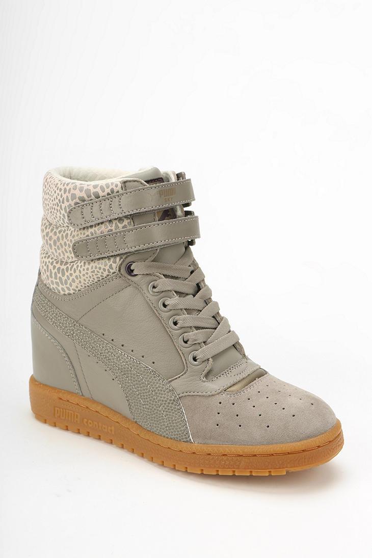 Puma Grey Shoes Top