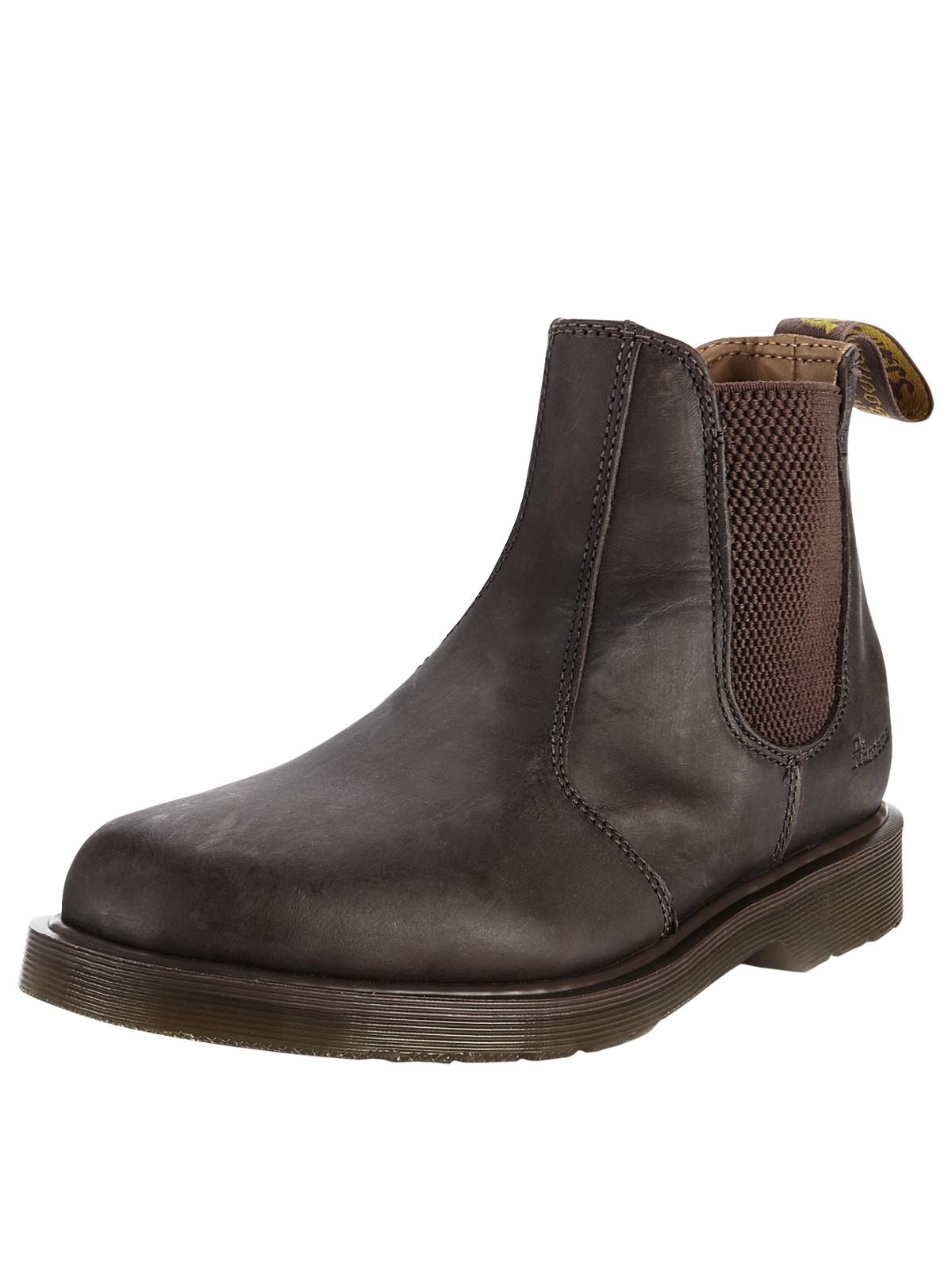 dr martens dr martens chelsea boot crazy horse in brown. Black Bedroom Furniture Sets. Home Design Ideas