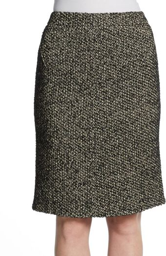 Zac Posen Tweed Pencil Skirt - Lyst