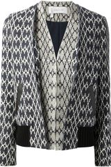 10 Crosby by Derek Lam Printed Jacket - Lyst