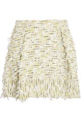 3.1 Phillip Lim Textured Tweed Mini Skirt - Lyst
