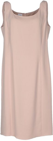 Armani Knee Length Dress - Lyst