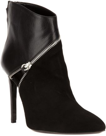 Barbara Bui Zip Detail Stiletto Boot - Lyst
