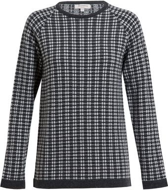 Browns Circular Patterned Cashmere Jumper - Lyst