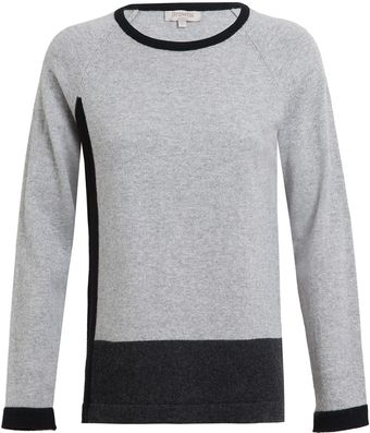 Browns Colour Blocked Cashmere Jumper - Lyst