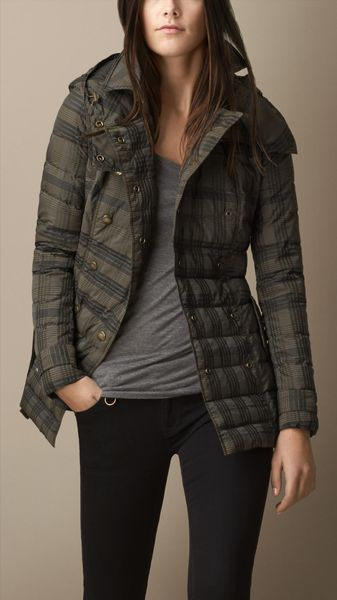 Burberry Heritage Downfilled Puffer Jacket - Lyst