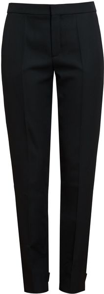 Chloé Tailored Wool Trousers - Lyst