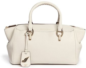 Diane Von Furstenberg Sutra Deer Grain Leather Duffle Bag - Lyst