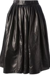 DSquared2 Pleated Aline Skirt - Lyst