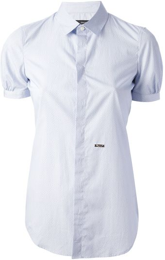DSquared2 Short Sleeve Shirt - Lyst