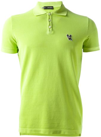 DSquared2 Short Sleeve Polo Shirt - Lyst