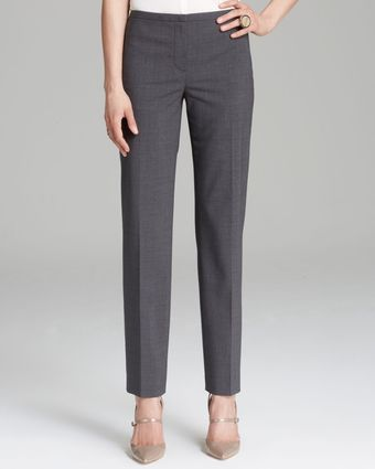 Elie Tahari Jillian Slim Pants - Lyst