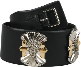 Emilio Pucci Leather Belt with Appliques - Lyst