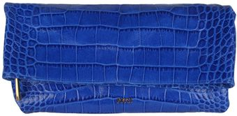 Emilio Pucci Leather Pochette with Croc Print - Lyst
