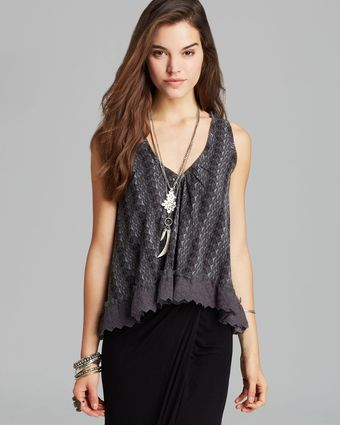 Free People Top Flutter Fly - Lyst