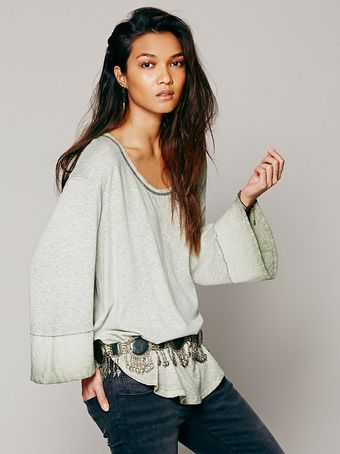Free People We The Free Shibori Tee - Lyst