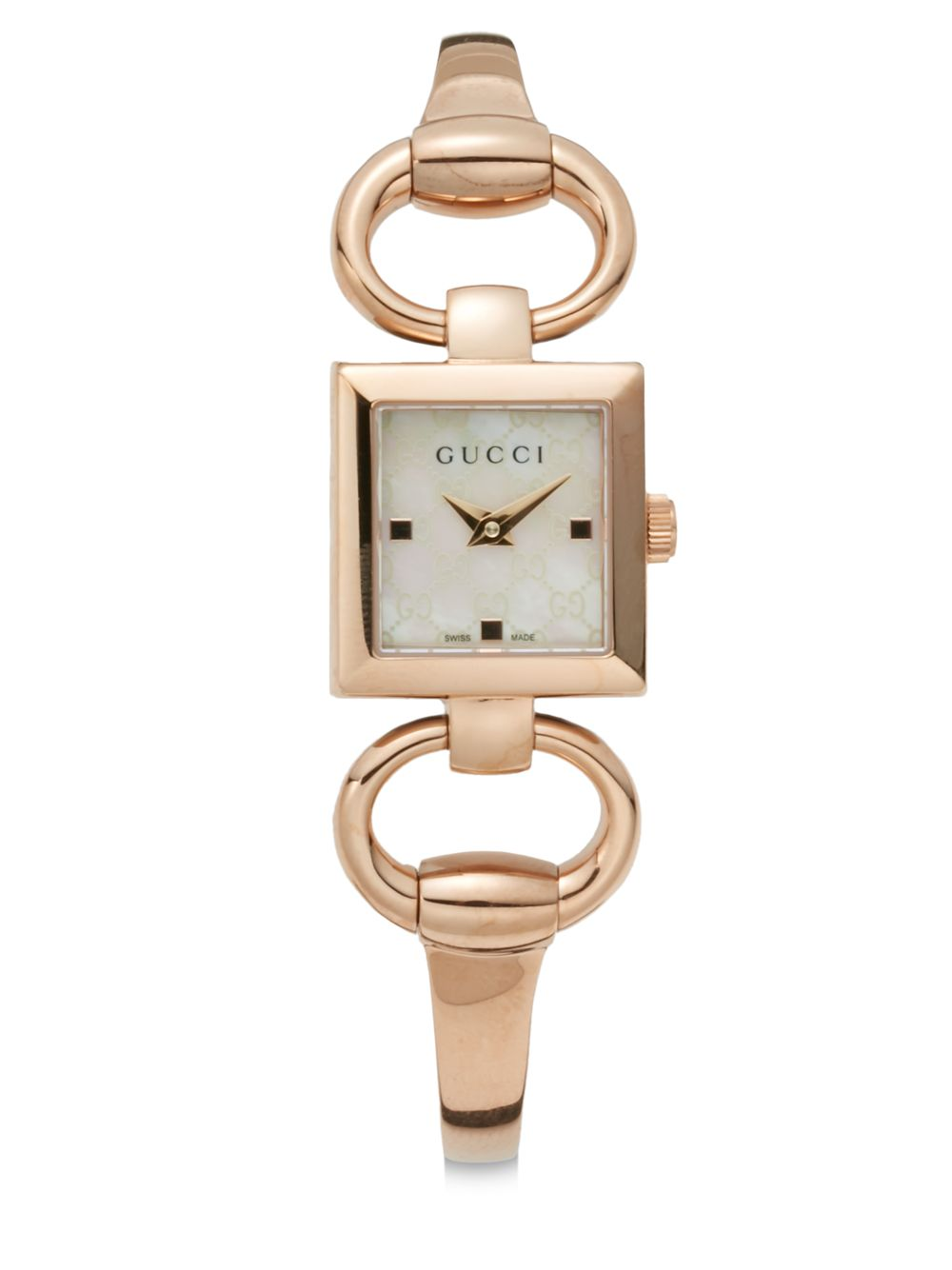 Gucci Rose Gold Ladies Watch Gucci Pink Gold Watch Pictures