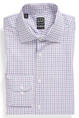 Ike Behar Check Regular Fit Dress Shirt - Lyst