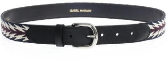 Isabel Marant Uma Embroidered Carpet Belt - Lyst