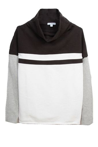 James Perse Funnel Pullover - Lyst