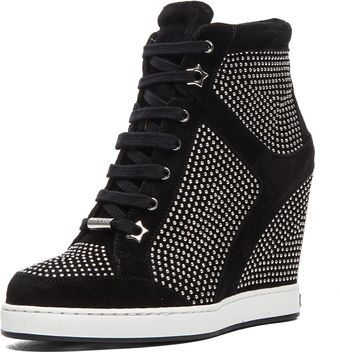 Jimmy Choo Panama Wedge Sneaker - Lyst