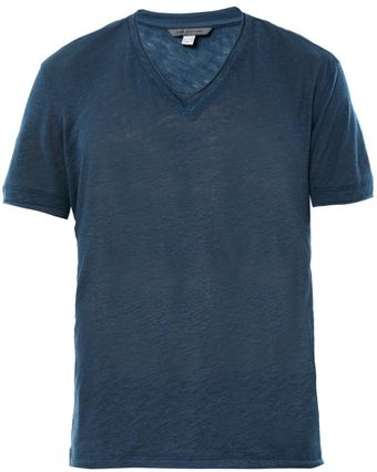 John Varvatos V-Neck T-Shirt - Lyst