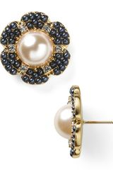 Kate Spade Park Floral Stud Earrings - Lyst