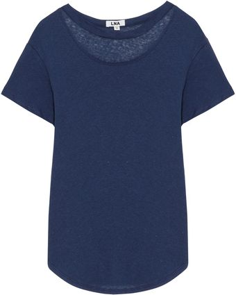 LNA Chelsea Cut-out Tee - Lyst