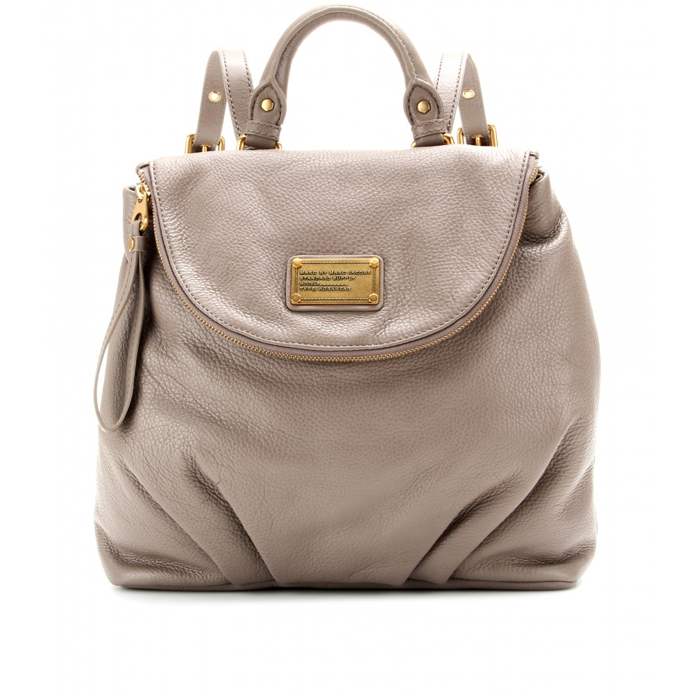 f85b814e39c Marc By Marc Jacobs Mariska Leather Backpack in Natural - Lyst