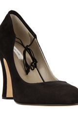 Marc Jacobs Bow Fastening Pump - Lyst