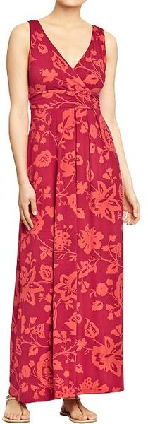 Old Navy Cross Front Maxi Dresses - Lyst