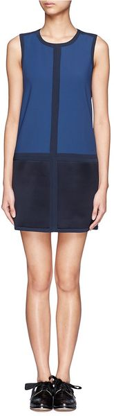 Rag & Bone Margot Colour Block Shift Dress - Lyst