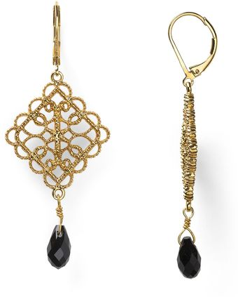 Ralph Lauren Lauren Lovely Lace Drop Earrings - Lyst