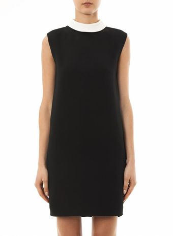 Saint Laurent Cadi Shift Dress - Lyst