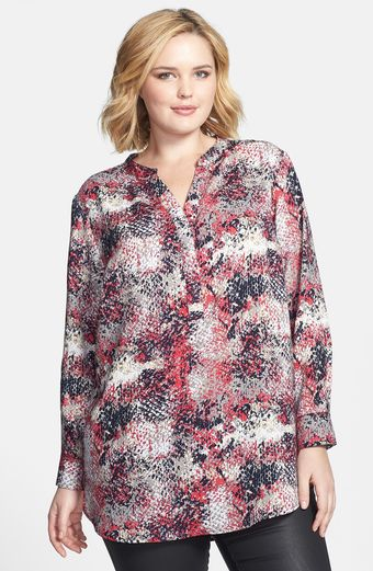 Sandra Ingrish Print High Low Tunic - Lyst