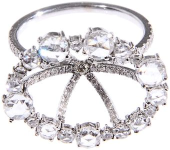 Susan Foster Diamond Ring - Lyst