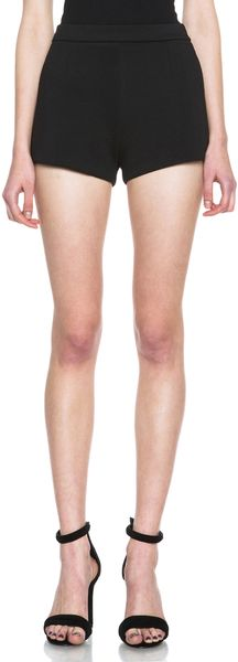 T By Alexander Wang Neoprene Shorts - Lyst
