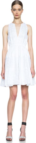 Thakoon Cinched Waist Dress - Lyst