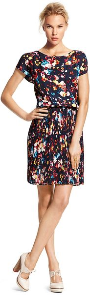 Tommy Hilfiger Floral Printed Dress - Lyst