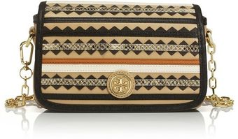 Tory Burch Robinson Zigzag Adjustable Chain Mini Bag - Lyst