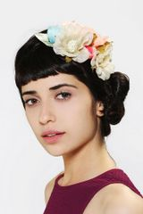 Urban Outfitters Flower Bouquet Headwrap - Lyst
