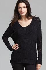Vince Sweater Open Knit - Lyst