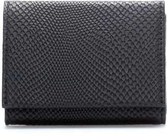 Zara Snakeskin Business Card Holder - Lyst