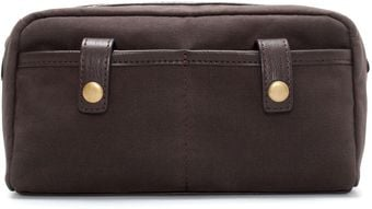 Zara Oiled Toiletry Bag - Lyst