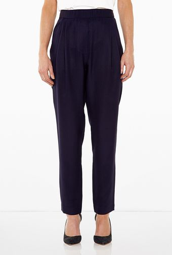3.1 Phillip Lim Silk Drape Pocket Trousers - Lyst
