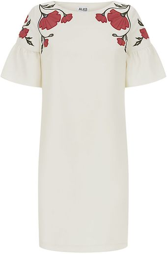 Alice By Temperley Mini Poppy Dress - Lyst