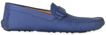 Bally Dred Leather Driving Shoes - Lyst